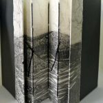 Sketchbook with concertina spine