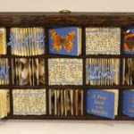 Small Butterfly print tray