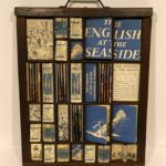 The English at the Seaside print tray